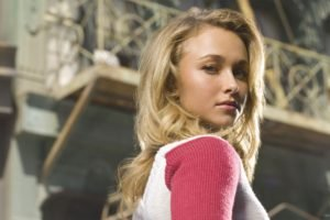 Hayden Panettiere, Blonde, Eyes, Blue eyes, Lips, Sweater