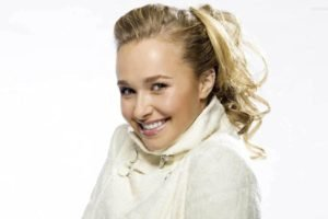 Hayden Panettiere, Blonde, Platinum blonde, Smiling, Eyes, Lips