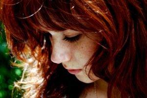 women, Face, Redhead, Freckles, Closeup