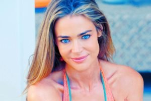women, Denise Richards, Blonde, Blue eyes
