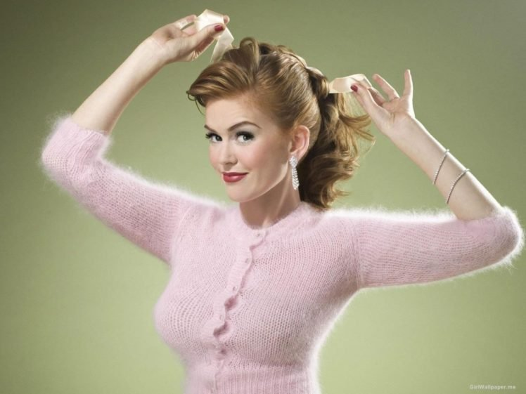 Isla Fisher, Actress, Pinup models HD Wallpaper Desktop Background