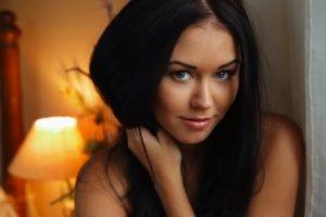 women, Brunette, Eyes, Lips, Model, Macy B