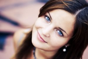 blue eyes, Eyes, Women, Face