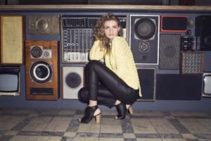fashion, Shoes, Blonde, Women, Yellow, Black, Heels, Hair, Photography, Music, Sweater