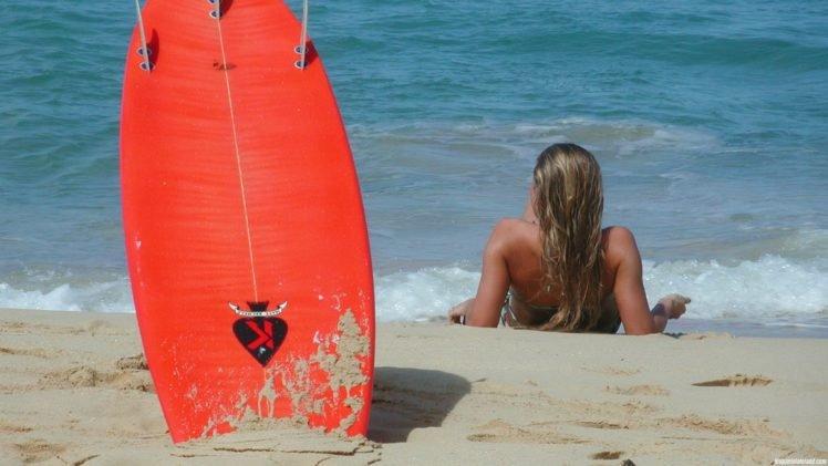 photography, Women, Beach, Surfing, People HD Wallpaper Desktop Background