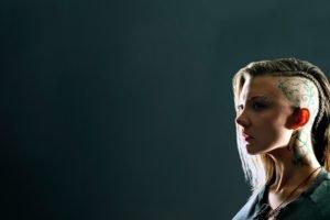 Natalie Dormer, Hunger Games, Braids, Cressida