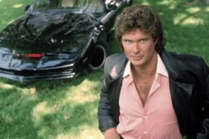 Pontiac, Simple background, Knight Rider, K.I.T.T., TV, David Hasselhoff, Field, Michael Knight, Men, Actor, Car