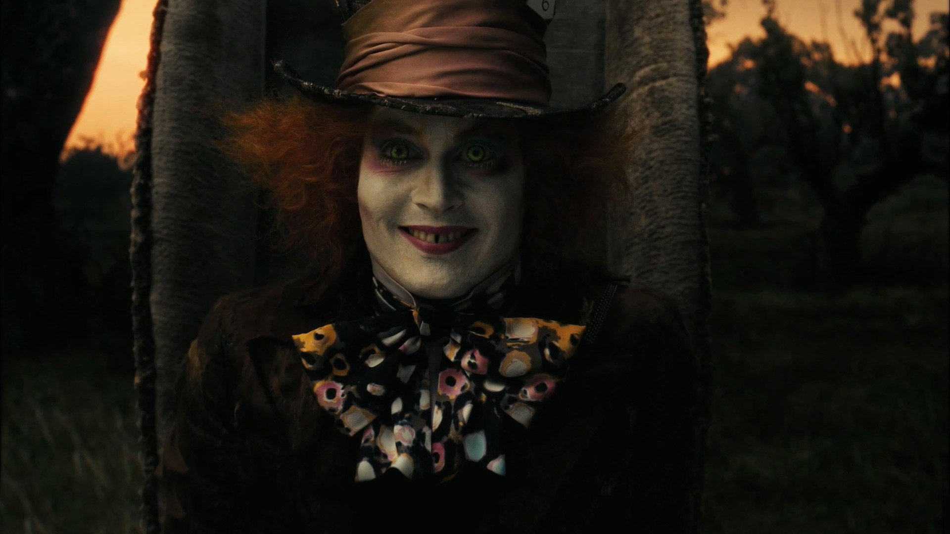 Alice In Wonderland Mad Hatter Johnny Depp Hd Wallpapers