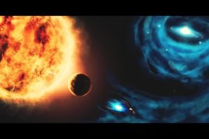 stars, Spaceship, Space