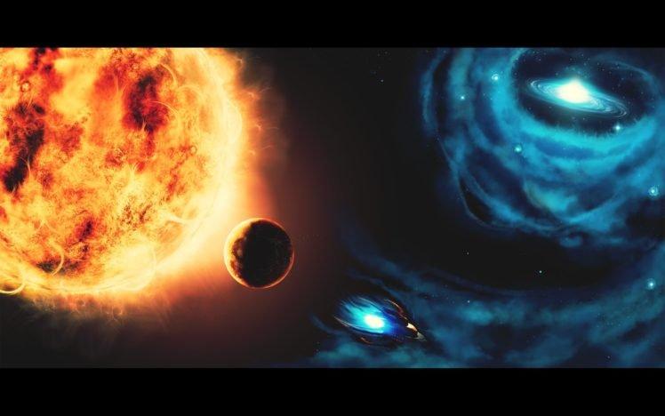 stars, Spaceship, Space HD Wallpaper Desktop Background