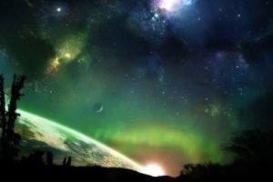 space art, Space, Planet, Digital art