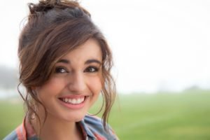 musicians, Singer, Rebecca Black, Face, Women, Brunette, Long hair, Smiling, Earrings, Women outdoors, Brown eyes