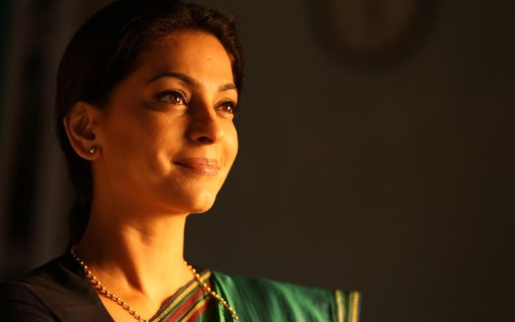 Women Juhi Chawla Face Indian Actress Brown Eyes Bollywood HD