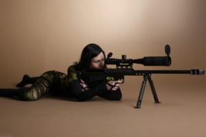 women, Snipers, Rifles