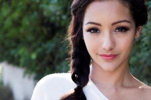 Melanie Iglesias, Women, Model, Brunette, Face, Long hair