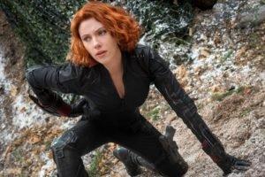 women, Scarlett Johansson, Redhead, Avengers: Age of Ultron, Black Widow