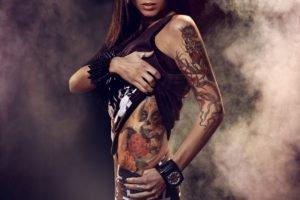 women, Legs, Chicks, Tattoo, Aleksandra Kasprzyk