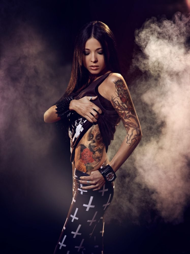 women, Legs, Chicks, Tattoo, Aleksandra Kasprzyk HD Wallpaper Desktop Background