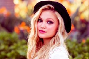 women, Blonde, Face, Olivia Holt