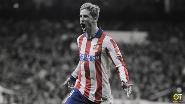 Fernando Torres, Atletico Madrid, Azerbaijan, Men HD Wallpaper Desktop Background