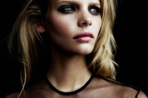 Marloes Horst, Women, Blue eyes, Face