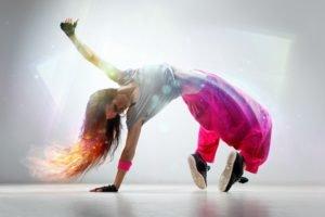 women, Breakdance