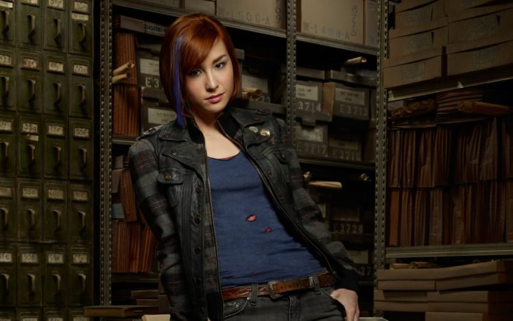 Allison Scagliotti, Redhead, Actress, Warehouse 13 HD Wallpaper Desktop Background