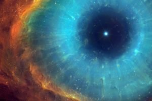 eyes, TylerCreatesWorlds, Universe, Nebula, Helix nebula, Space, Stars, Space art, Digital art