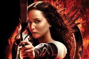 Hunger Games, The Hunger Games, Brunette, Jennifer Lawrence, Movies