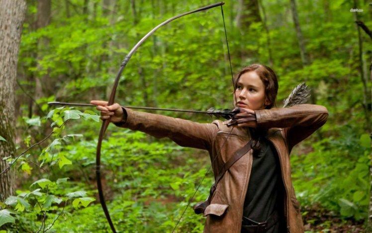 Jennifer Lawrence, The Hunger Games, Movies, Women, Actress HD Wallpaper Desktop Background