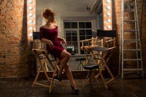 women, Hollywood, Kate Shepherd, Redhead