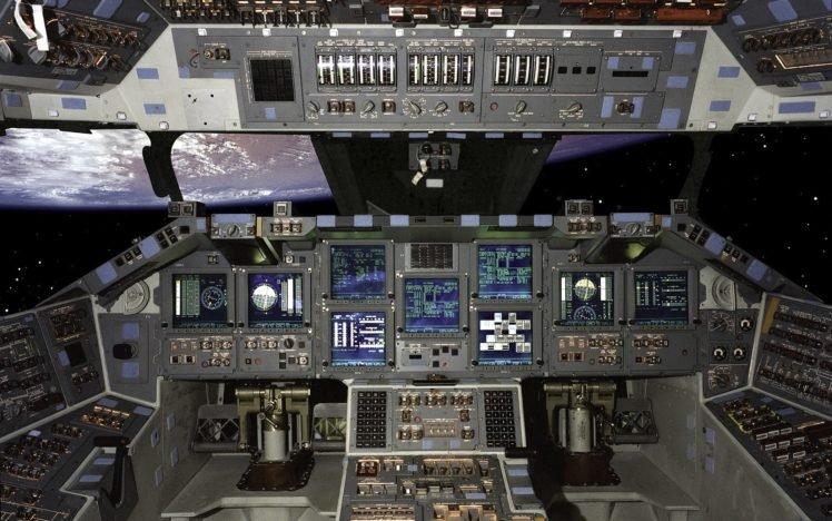 cockpit, Space HD Wallpaper Desktop Background