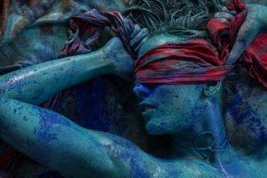 women, Body paint