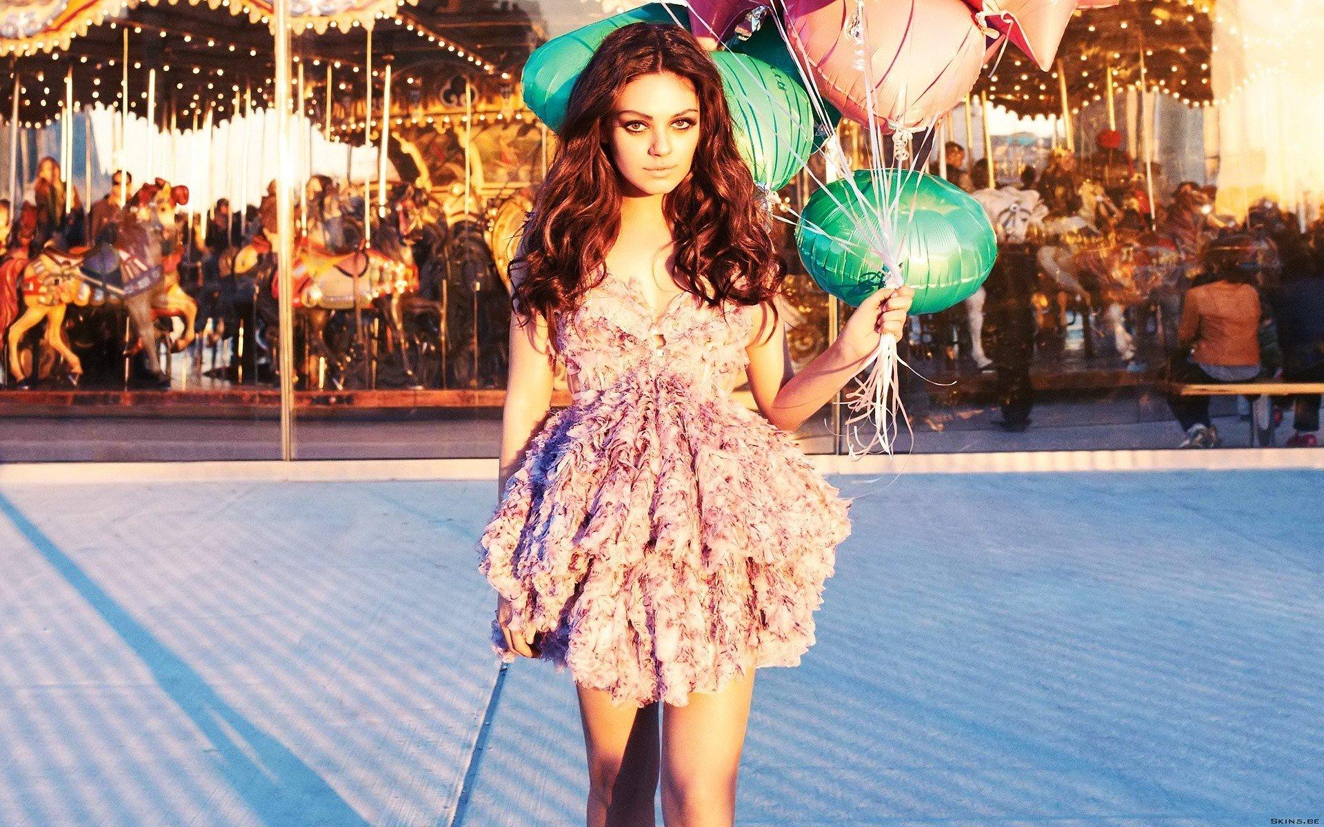 women, Mila Kunis, Actress Wallpaper