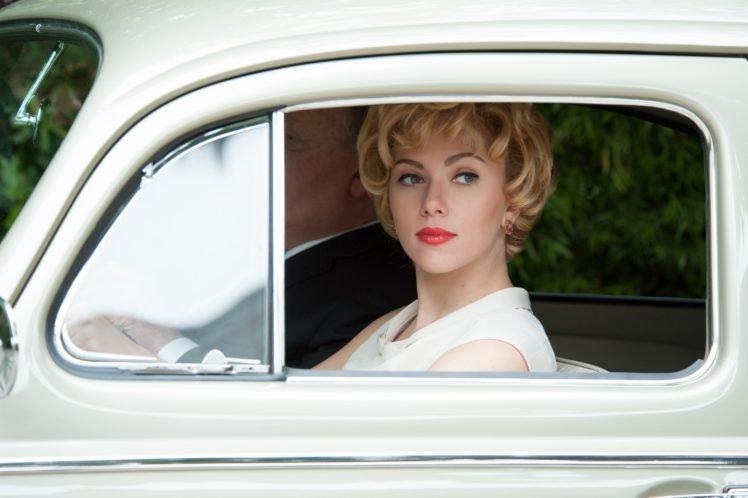 actress, Blonde, Scarlett Johansson, Hitchcock (movie) HD Wallpaper Desktop Background