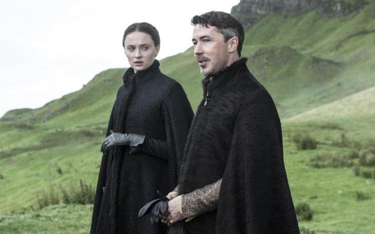 Sophie Turner, Women, Actress, Game of Thrones, Sansa Stark, Petyr Baelish, Men, Actor HD Wallpaper Desktop Background