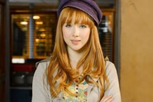 model, Redhead, Anime, Actress, Women, Face, Portrait, Smiling, Long hair, Blue eyes, Castle (TV series), Molly Quinn