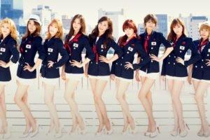 SNSD, Girls Generation, K pop, Hands on hips
