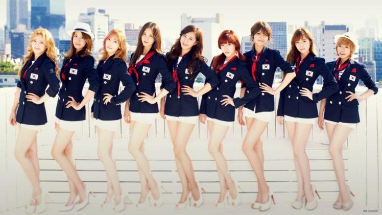 Snsd Girls Generation K Pop Hands On Hips Hd Wallpapers