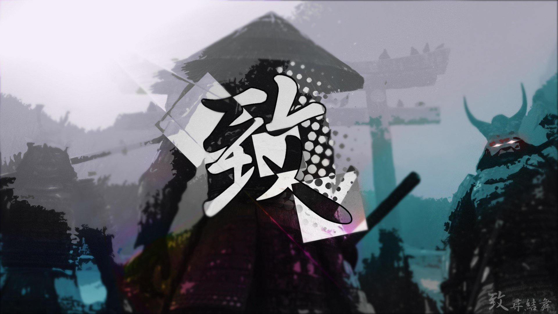 Sucker Punch, Black, Japanese, Japanese Art HD Wallpapers