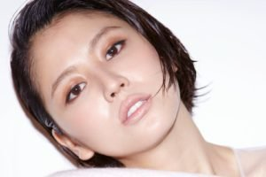 Masami Nagasawa, Face, Brown eyes, Short hair, Asian, Women, Looking at viewer