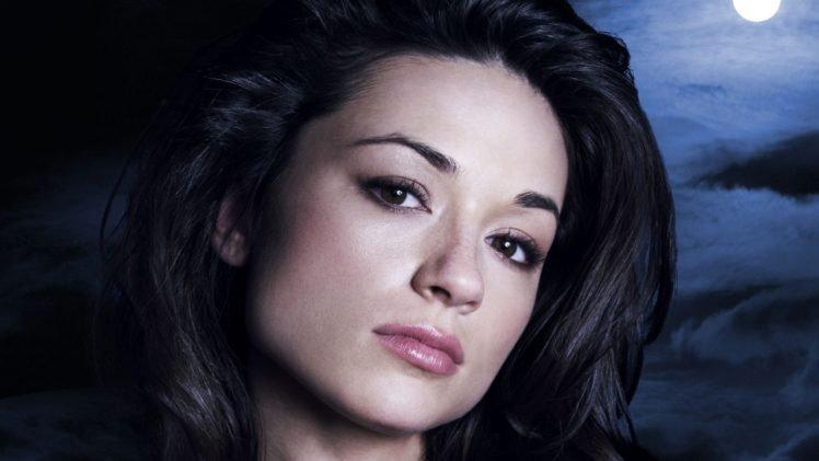 Allison Argent, Crystal Reed, MTVs Teen Wolf, Teen wolf, Women, Face, Actress, Freckles HD Wallpaper Desktop Background
