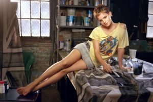 Emma Watson, Actor, Short hair