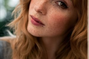 women, Actress, Redhead, Long hair, Vica Kerekes, Brown eyes, Freckles, Face, Portrait