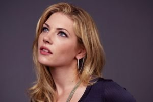 women, Katheryn Winnick, Blonde, Blue eyes, Face, Actress