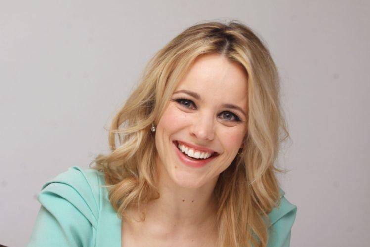 Rachel McAdams, Celebrity, Women, Blonde, Blue eyes, Smiling HD Wallpaper Desktop Background