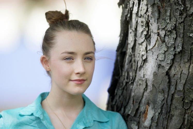 women, Celebrity, Saoirse Ronan, Actress HD Wallpaper Desktop Background