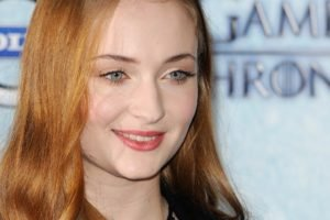 Sophie Turner, Game of Thrones, Women, Face, Redhead