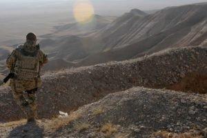 soldier, Military, Gun, Desert, Nature, Landscape, Bundeswehr, ISAF