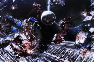 Warhammer 40, 000, Space marines, Horus Heresy, Warhammer